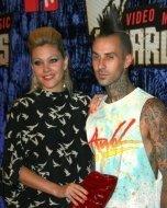 Shanna Moakler and Travis Barker