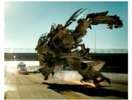 Bumblebee voiced by Mark Ryan in DreamWorks/Paramount Pictures' 'Transformers'
