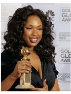 64th Annual Golden Globes Awards Backstage: Jennifer Hudson