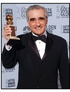 2003 Golden Globe Awards backstage: Martin Scorsese