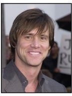 """Jim Carrey at the """"Bruce Almighty"""" premiere"""