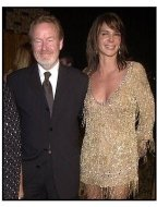 HBO Spago Emmy Party 2002: Ridley Scott with date Giannina Facio