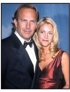 Kevin Costner and Christine Baumgartner at the 2000 Carousel of Hope