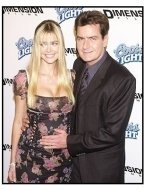 """Denise Richards and Charlie Sheen at the """"Scary Movie 3"""" premiere"""