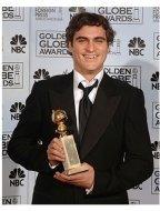 63rd Golden Globes Backstage Photos: Joaquin Phoenix