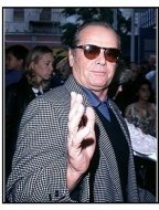 "Jack Nicholson at the ""Rugrats"" Premiere"