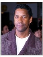 "Denzel Washington at the ""Erin Brockovich"" Premiere"