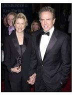 Warren Beatty and Annette Bening at the 2001 Blockbuster Awards