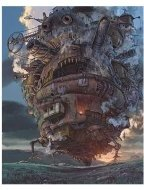 Howl's Moving Castle Movie Stills: The Moving Castle