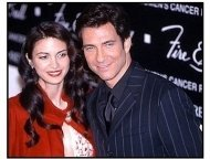 Dylan McDermott and Shiva Rose at the 2000 Fire and Ice Ball