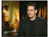 """City of Ghosts"" Interview Video Still: Matt Dillon"