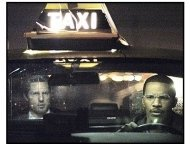 """""""Collateral"""" Movie still: Tom Cruise and Jamie Foxx"""