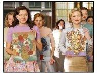 """Mona Lisa Smile"" Movie Still: Kirsten Dunst and Maggie Gyllenhaal"