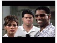 """Out of Time"" Trailer Still: Eva Mendes and Denzel Washington"