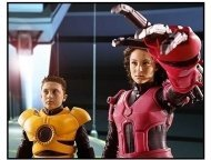 """Spy Kids 3-D: Game Over"" Movie Still: Daryl Sabara and Alexa Vega"