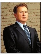 The West Wing TV Still: Martin Sheen as Josiah Bartlet in The West Wing