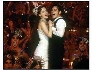 Moulin Rouge movie still: Nicole Kidman and Ewan McGregor