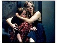 Panic Room movie still: Jodie Foster as Meg Altman and Kristen Stewart plays her daughter, Sarah