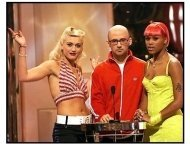 2001 MTV Video Music Awards: Gwen Stefani, Moby and Eve onstage