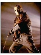 Jason X movie still: Kane Hodder as Jason Voorhees