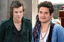 Harry Styles and John Mayer