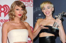 Taylor Swift, Miley Cyrus