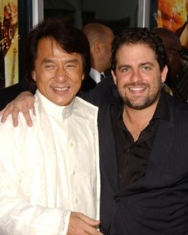 Jackie Chan and Brett Ratner
