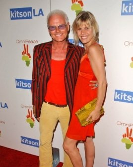 Michael Des Barres and friend