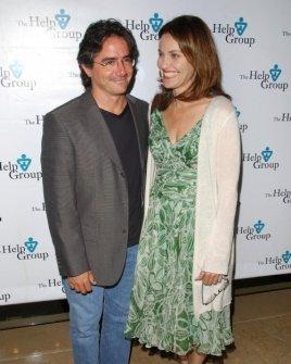 Brad Silberling and Amy Brenneman
