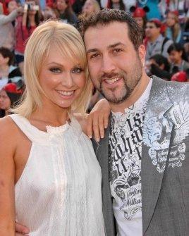 Joey Fatone and wife Kelly