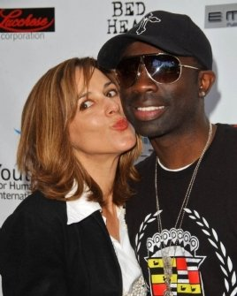 Maggie Wagner and Sam Sarpong