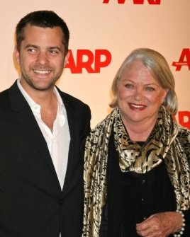 Joshua Jackson and Louise Fletcher