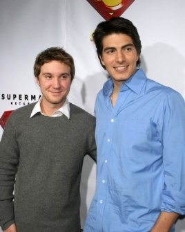 Sam Huntington and Brandon Routh