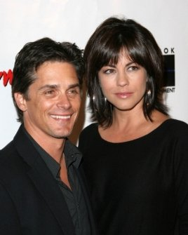 Billy Warlock and Julie Pinson