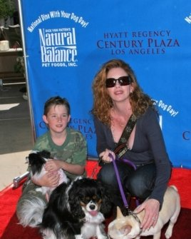 Melissa Gilbert and son Michael