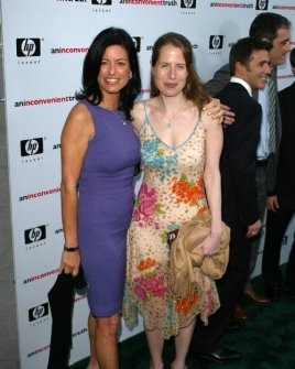 Laurie Lennard and Karenna Gore
