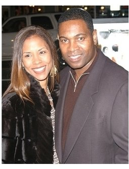 ATL Premiere Photos:  Mykelti Williamson and wife Sandra Spriggs