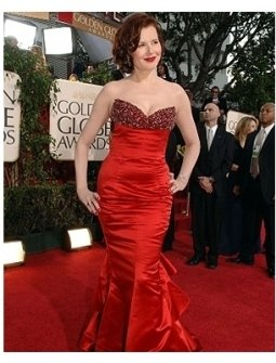 63rd Golden Globes Red Carpet Photos: Geena Davis