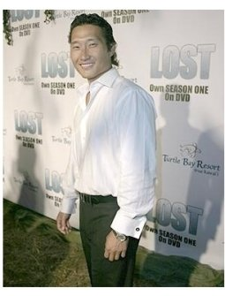 Lost Season 1 DVD Release Party Photos:  Daniel Dae Kim