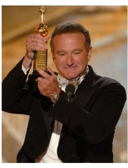 Robin Williams at the 62nd Golden Globe Awards