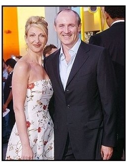 "Colm Feore and wife at ""The Chronicles of Riddick"" Premiere"