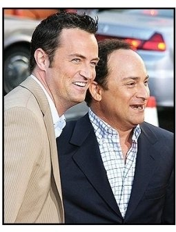 """Matthew Perry and Kevin Pollak at """"The Whole Ten Yards"""" Premiere"""