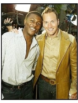 "Edwin Hodges and Patrick Wilson at ""The Alamo"" Premiere"
