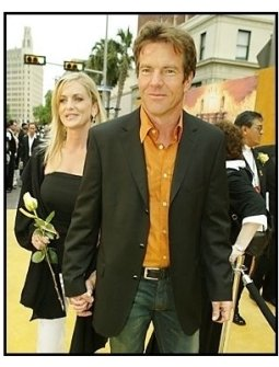 "Dennis Quaid and date arrive for ""The Alamo"" Premiere"