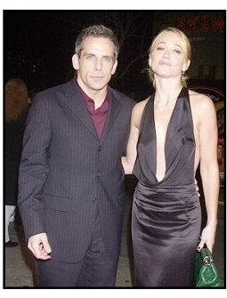 """Ben Stiller and wife Christine Taylor at the """"Starsky & Hutch"""" Premiere"""