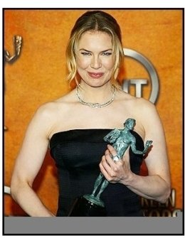 10th Annual SAG Awards -Renee Zellweger-Backstage