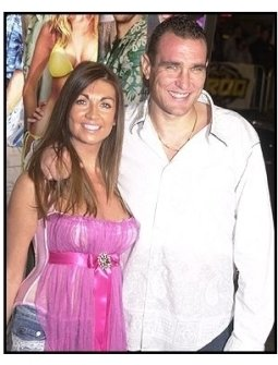 """Vinnie Jones and wife Tanya at """"The Big Bounce"""" premiere"""