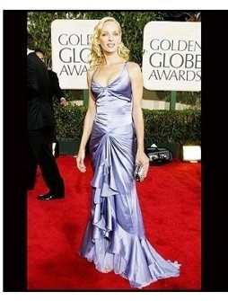 61st Annual Golden Globe Awards--Red Carpet--Uma Thurman--Getty--ONE TIME USE ONLY