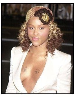 "Eve at the ""Barbershop 2: Back in Business"" premiere"