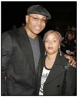 """ONE TIME USE ONLY: LL Cool J and wife Symone  at the """"Out of Time"""" Premiere"""